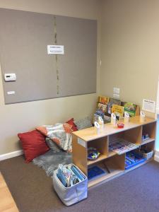 classroom decor book nook