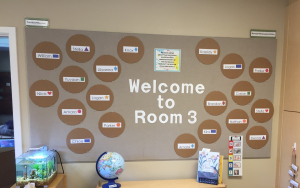classroom decor welcome wall