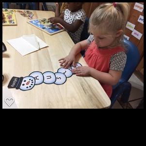 preschool winter activities - snowman names