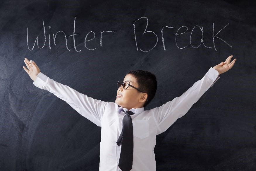 learning over winter break