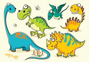 Dinosaur Activity Cartoon