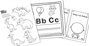 Indoor Recess Printables
