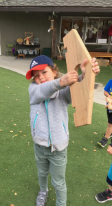 superhero dramatic play bow and arrow