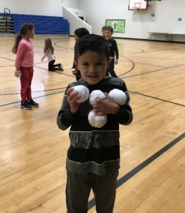 Indoor Recess Idea - Snowball Fight