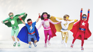 superhero dramatic play