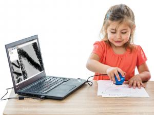 digital classroom microscope virtual learning tool