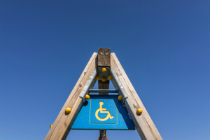 wheelchair accessible swing set
